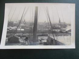 PHOTO  TRANSATLANTIQUE PAQUEBOT HALIFAX CANADA CHERBOURG CALAIS LE HAVRE BATEAU FORMAT CPA - Schiffe