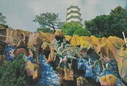CARTOLINA - HONG KONG - THE TIGER PALM GARDEN - Cina (Hong Kong)
