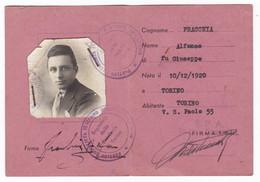 TESSERA PARTITO SOCIALISTA ITALIANO D'UNITA PROLETARIA - Documenti Storici