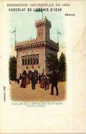 CPA PARIS EXPO 1900 Pavillon De La Republique De St-Martin Champ-de-Mars (709722) - Expositions