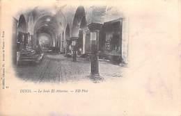 Afrique Tunisie TUNIS Le Souk El Attarine  (Cpa DOS SIMPLE En 1901- Editions D'AMICO  N°21)*PRIX FIXE - Tunisia