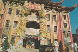 CARTOLINA - HONG KONG - THE TEN THOUSAND BUDDHA TEMPLE - Cina (Hong Kong)