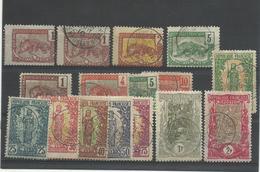 Congo Français, 1900, 16 Valeurs Oblitérées, Cote 90€ - Gebraucht