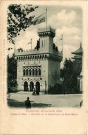CPA PARIS EXPO 1900 Pavillon De La Republique De St-Martin Champ-de-Mars (709749) - Expositions