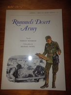 OSPREY MILITARY  MEN-AT-ARMS SERIES N°54  Rommel's Desert Army - Livres, Revues & Catalogues