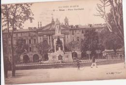 CPA -  65. NICE Place Garibaldi - Monuments, édifices