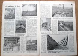 """Magazine Avec Article """"Les Briqueteries De Boom"""" 1938 - Vieux Papiers"""