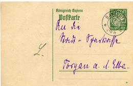 (Lo3075) Altdeutschland Ganzs. Bayern St. Bayreuth N. Torgau - Lettere