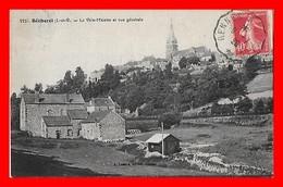 CPA (35) BECHEREL.La Ville-Malette Et Vue Générale...I0667 - Bécherel