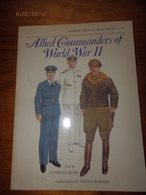 OSPREY MILITARY  MEN-AT-ARMS SERIES N°120  Allied Commanders Of World War II - Livres, Revues & Catalogues