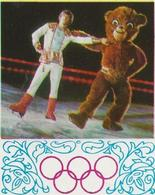 PETIT CALENDRIER 1980 -RUSSIE JEUX OLYMPIQUES DE MOSCOU - Kalender