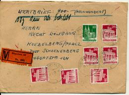 MÜNCHEN - 1949 , Wertbrief Nach Kuebelberg - American/British Zone