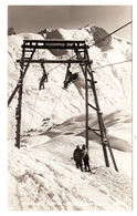 AK Zürs, Skilift Zürsersee, Gel. 1955 - Bludenz