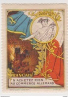 France WWI Anti German Propaganda Stamps Vignette Poster Stamp - Military Heritage