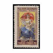 France WWI Plus Rien D'allemand  Stamps Vignette Poster Stamp - Commemorative Labels
