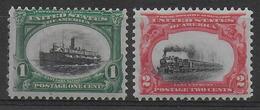 USA - YVERT N° 138/139 ** MNH - COTE = 100 EUR - - Unused Stamps