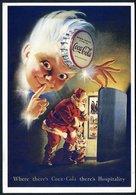 CPM  Père Noël Coca-Cola - Cartes Postales