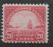 USA - YVERT N° 242 * MLH - COTE = 24 EUR - DENTELE 11 - Unused Stamps