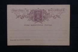 MOZAMBIQUE - Entier Postal Avec Réponse , Non Circulé - L 23956 - Mozambique