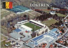 Football -- Lokeren - Daknamstadion - Belgique     (2 Scans) - Fussball