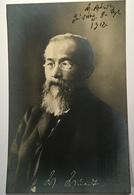 """Wilhelm Wundt(1832-1920) """"DER VATER DER PSYCHOLOGIE"""" Original Autograph Foto Postkarte (science Wissenschaft Autographe - Autogramme & Autographen"""