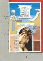 CARTOLINA NV ITALIA - FIRENZE Capitale Europea Cultura - Numerata 0408 - ANDREA DAL SARTO Sacrificio Di Isacco - 9 X 14 - Manifestazioni