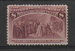USA - YVERT N° 87 * MH - COTE = 60 EUR - - Unused Stamps