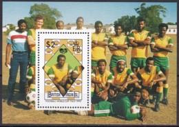 Jungferninseln, 1989, 672 Block 58, Fußball-Weltmeisterschaft 1990, MNH ** - British Virgin Islands