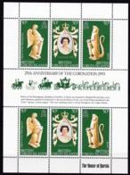 Jungferninseln, 1978, 387/89, 25. Jahrestag Der Krönung Von Königin Elisabeth II. MNH ** - British Virgin Islands