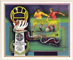 Dominica, 1990,  Fußball-Weltmeisterschaft, Italien. MNH ** - Dominica (1978-...)