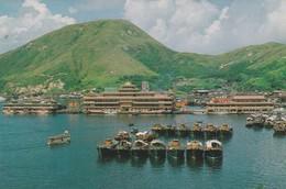 CARTOLINA - HONG KONG - THE FLOATING RESTAURANT, ABERDEEN - Cina (Hong Kong)
