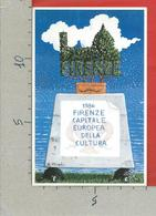 CARTOLINA NV ITALIA - FIRENZE Capitale Europea Cultura - Numerata 0408 - Lapide - Cenotafio - 9 X 14 - Manifestazioni