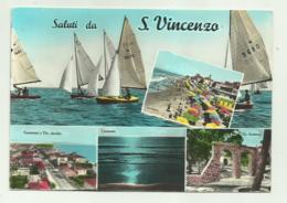 SALUTI DA S.VINCENZO -   VIAGGIATA FG - Livorno