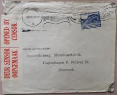 South Africa Capetown 1940 Denmark Censored - South Africa (1961-...)