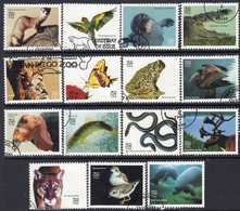 USA 1996 Endangered Species Set Of 15, Used, SG 3240/54 - Usati