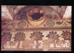 CPM Neuve Jordanie NEBO-SIYAGHA The Basin Of The Baptistry In The Memorial Of Moses - Jordanie