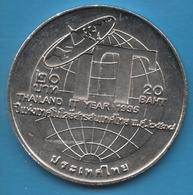 THAILAND 20 BAHT 2538 (1995) Information Technology Y#314 - Thaïlande