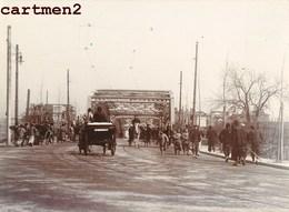 PEKIN PEKING BRIDGE CHINE CHINA ORIGINAL PHOTO 1900 - China
