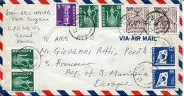 43121 South Korea, Circuled Cover 1972 Repubblic Of San Marino,  See Scan - Corée Du Sud