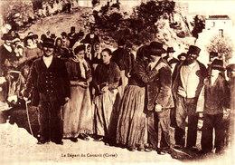 LE DEPART DU CONSCRIT Magnifique Retirage A CORSICA ANTICA - Corse