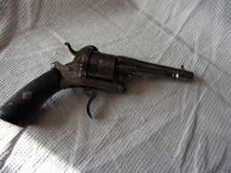 Superbe Pistolet A Broche - Decotatieve Wapens