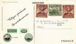 """MALTE - 1951 -  """"dear Doctor Card"""" -  Marinol - Ionyl - Malte"""