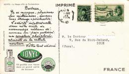 """ÉGYPTE - """"dear Doctor Card"""" -  Ionyl - Tut-Ank-Amon - Égypte"""