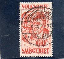 SARRE 1931 O - Oblitérés