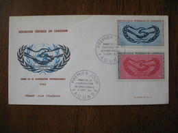 FDC  Enveloppe   Cameroun  Yaoundé   1965 - Cameroon (1960-...)