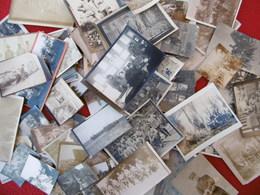 WWI SOLDATS POILUS TRANCHEES AVION PILOTE MITRAILLEUSE 118 PHOTOS - Krieg, Militär