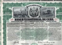 Banco Territorial De Cuba - Banque & Assurance