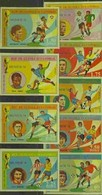Guinea Equatorial, World Cup 1974-IV, 9 Stamps Imperforated - Coppa Del Mondo