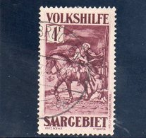SARRE 1932 O - Oblitérés