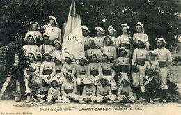 CARNAC  *** SOCIETE DE GYMNASTIQUE L AVANT GARDE EN 1909 *** - Carnac
